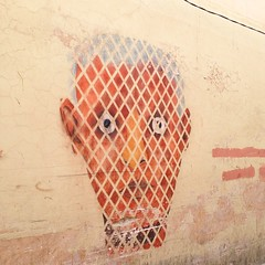 #street #art found in the #medinas of #Marrakech #graffiti