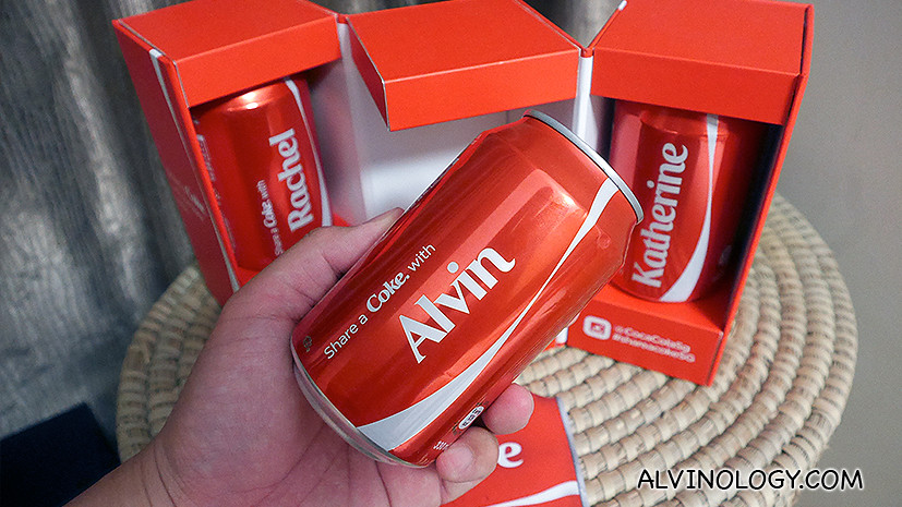Coca-Cola's 'Share a Coke' Reaches Singapore's Shores, Just in Time for SG50 - Alvinology