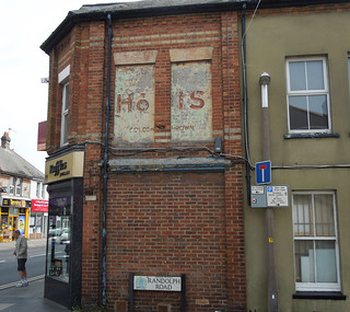 Ghost sign, Parkstone, Apr 2015