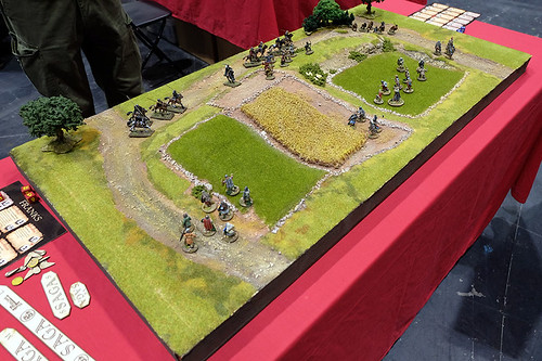 SAGA Table at Salute 2015