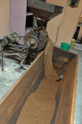 Coffee grinder, Harar, Ethiopia