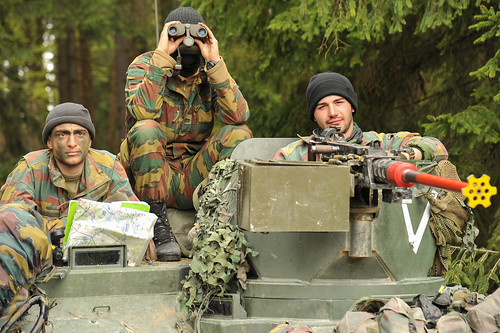 Belgian Army soldiers