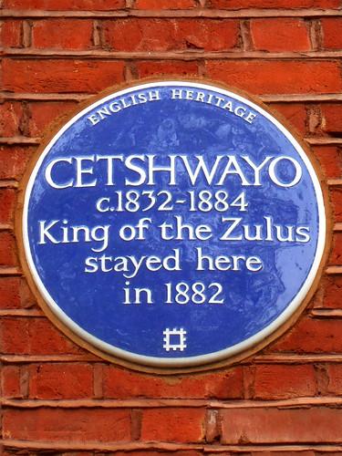 Zulu King Cetshwayo photo