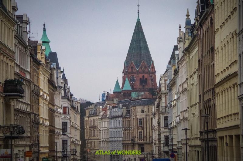 Ciudad alemana no destruida en la guerra