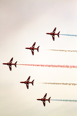 Red Arrows at Blackpool
