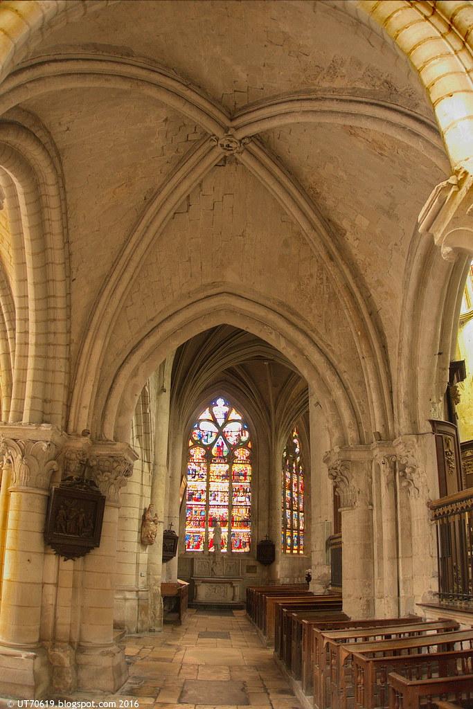 St. Madeleine Seitenschiff