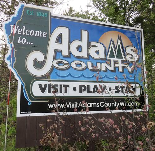 wisconsin wi adamscounty countysigns