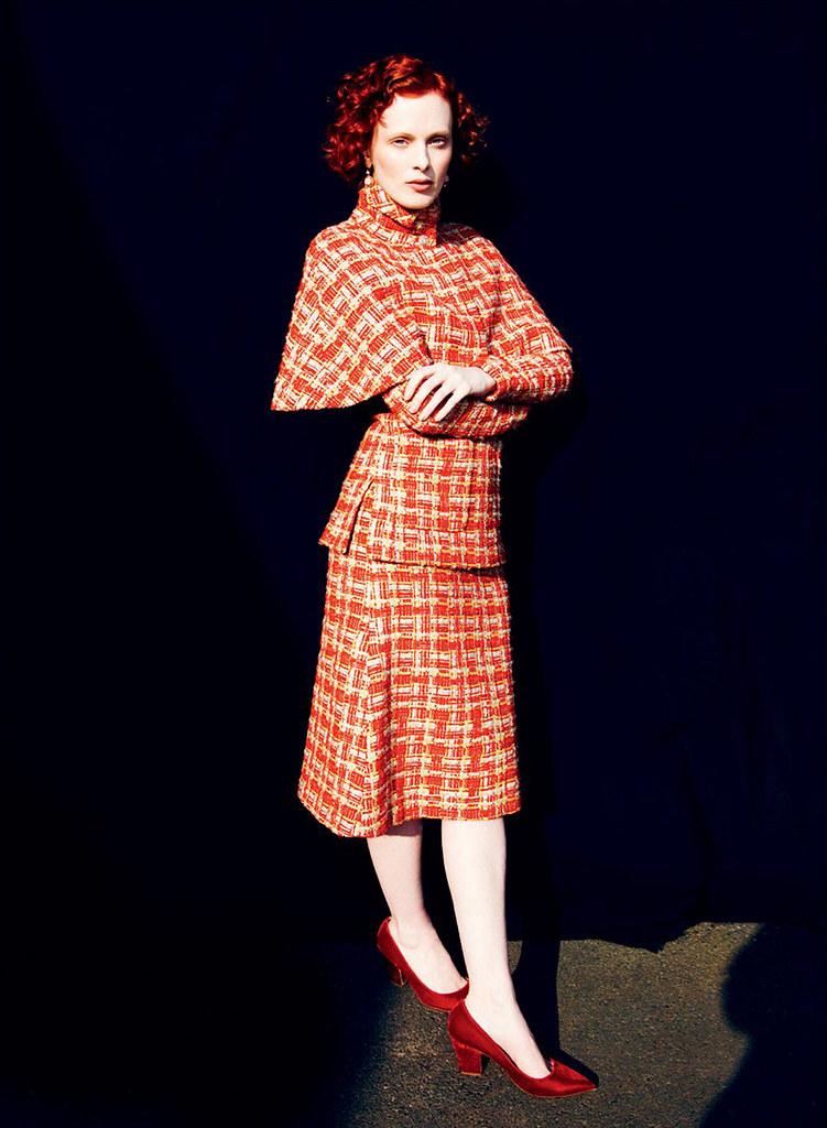 Карен Элсон — Фотосессия для «Harper's Bazaar» UK 2016 – 7
