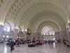 Union Station's welcome to Washington