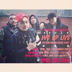 If you're looking for me this Saturday, I'll be at Velocity 5 in Centreville!!! The homies Pete Hong @bellyout and Paradise @diseworld  aka We Up Band will be live! You know the fam @va_cnote will be a feature so yea...I'm there! Come Through!! #live #mus