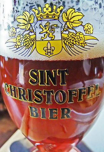Having a Sint Christoffel in Delft, Holland
