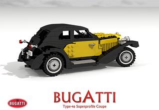 Bugatti Type-46 Superprofile Coupe (1930 - Jean Bugatti)