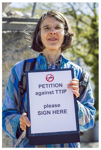 Bristol TTIP day of action