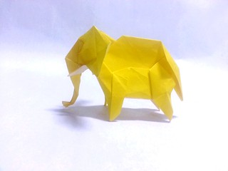 Elephant Created and made by me Using 30x30cm paper