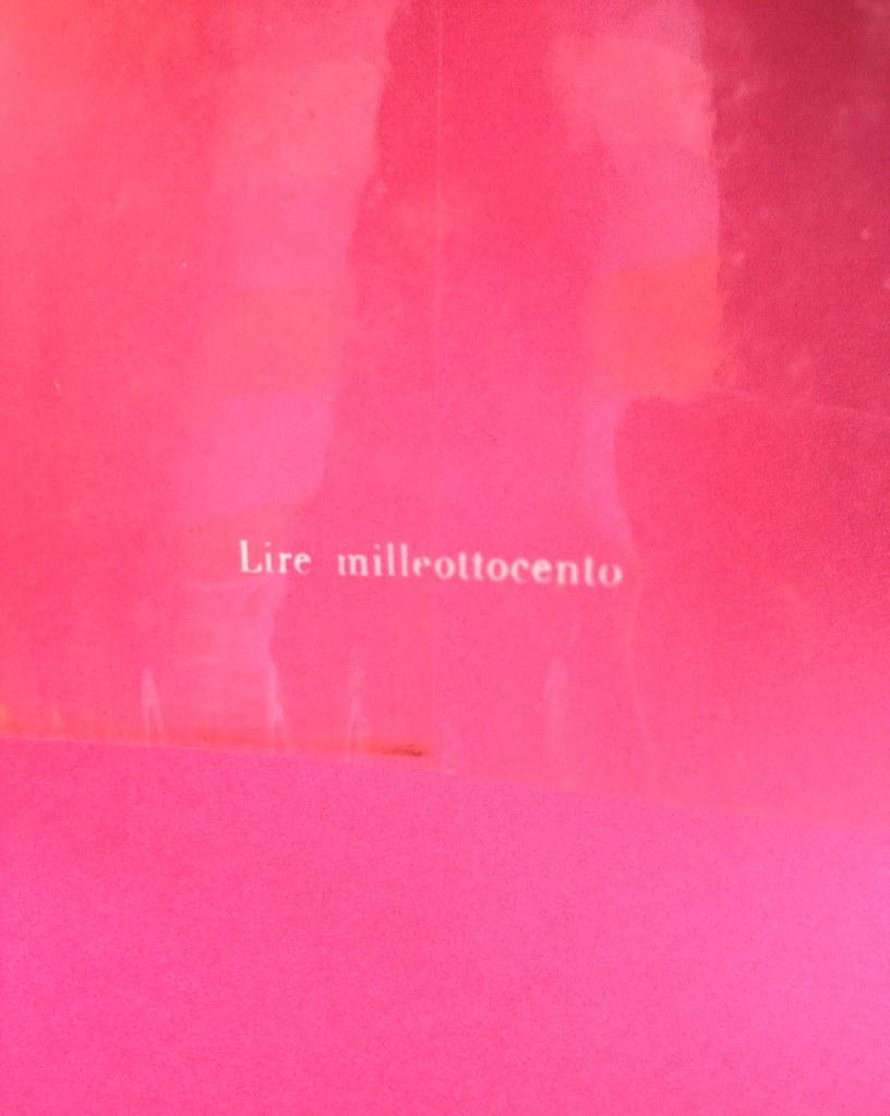 Disamore, di Libero Bigiaretti. Bompiani 1964. [Responsabilità grafica non indicata]. Risvolto della quarta di sovracoperta (part.), 1