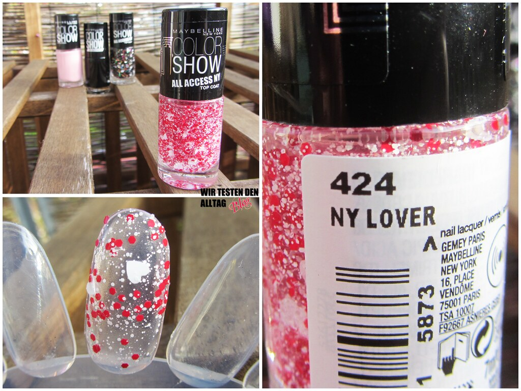 MAYBELLINE Colorshow All Access NY LE www.wirtestendenalltag.blogspot.de