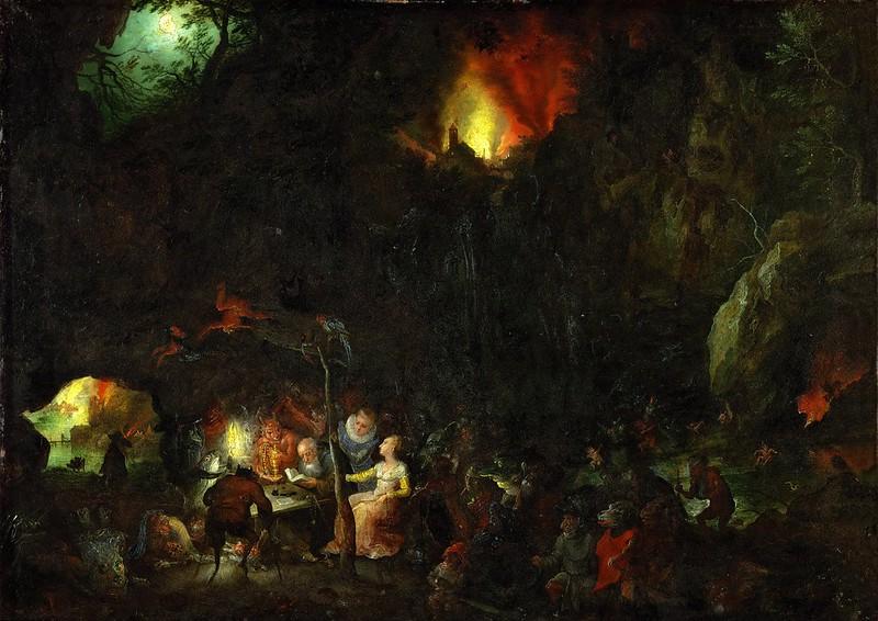 Jan Brueghel The Elder - The Temptation of Saint Anthony, 1594
