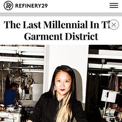 Thank you @refinery29 for this awesome story of a factory girl trying to survive in this godforsaken industry.