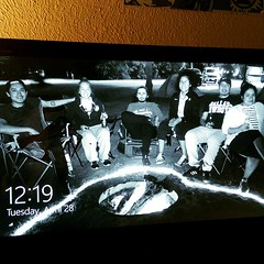 The awesome lockscreen on my computer 😜
