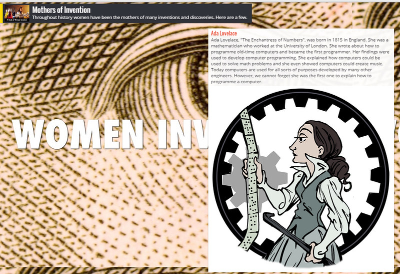 Post about Ada Lovelace