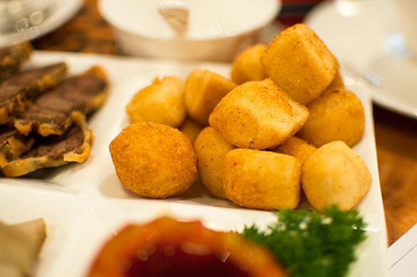 七味豆腐 カリカリッ揚げ豆腐