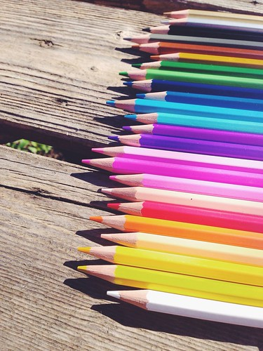 all the pretty pencils