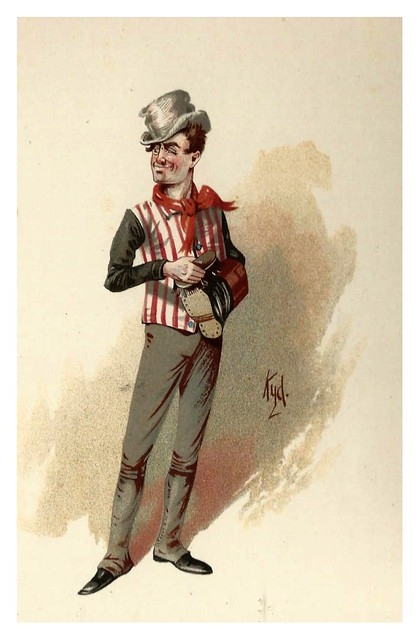 015-Sam Weller-Character Sketches from Charles Dickens…1889- J. Clayton Clarke- The Victorian Web