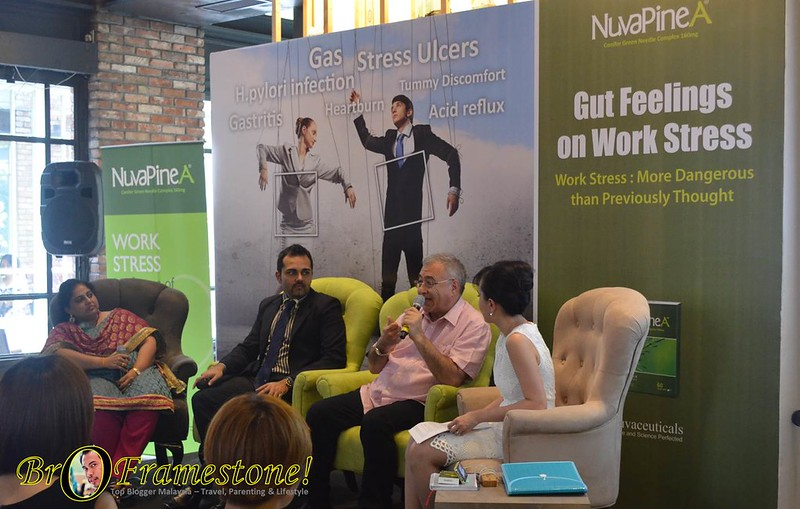 Nuvapine Media Workshop - Tekanan Kerja Membebankan Usus