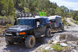 ExCop Off Road Toyota FJ Cruiser Trailer