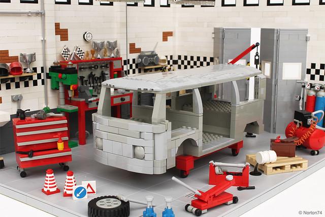 moc volkswagen t2 sandblasted bodywork lego technic and model team eurobricks forums. Black Bedroom Furniture Sets. Home Design Ideas