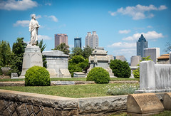 Statues & Skyscrapers | Oakland Cemetery