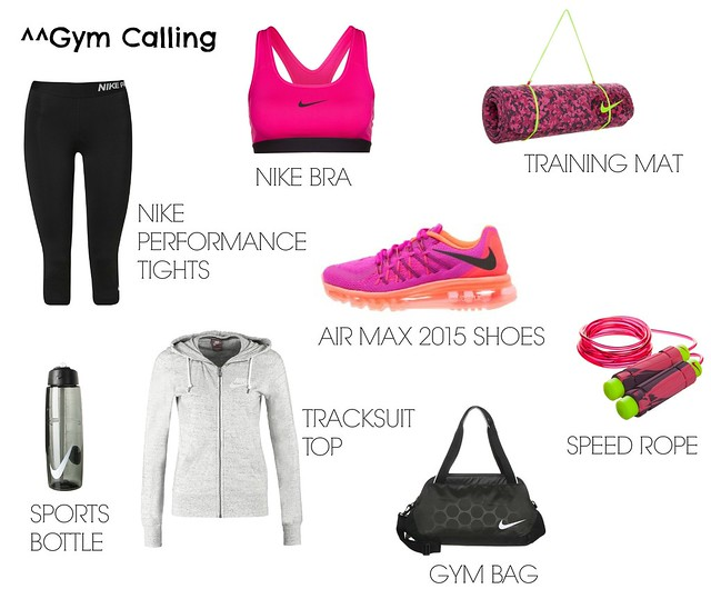 gym outfit wishlist