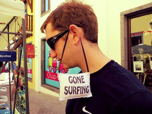 gone surfing, el campaneria, surf trip, surf camp fuerteventura