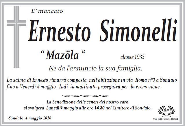 Simonelli Ernesto