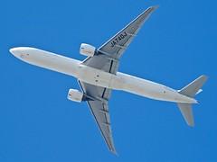 Japan Airlines Boeing 777-300ER, JA740J, go-around, 29L, SFO P1013419
