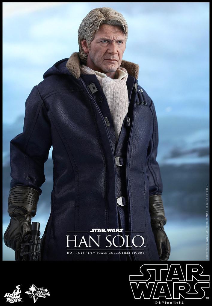 Hot Toys – MMS374 – STAR WARS:原力覺醒【韓索羅】Han Solo 1/6 比例人偶作品