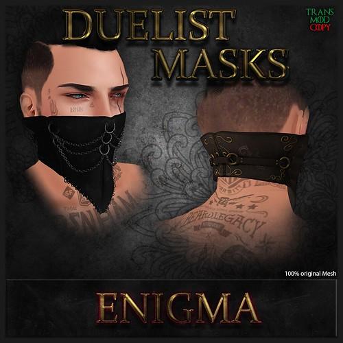 _ENIGMA_ Duelist Masks Add