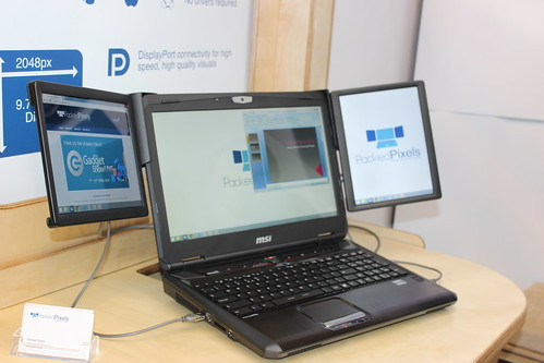 how to get portable multiple screen on a laptop