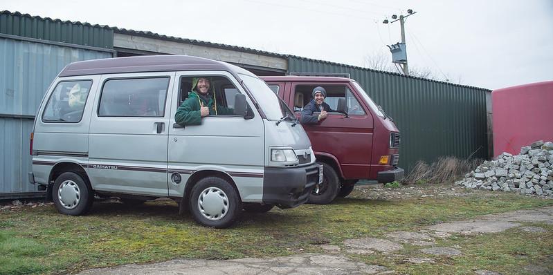 VW Camper + Hijet-3