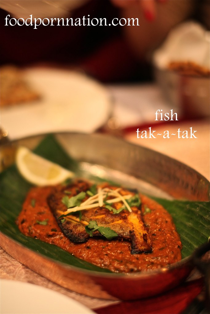 Fish tak a tak - Gaylord - Fitzrovia - London Food Blog
