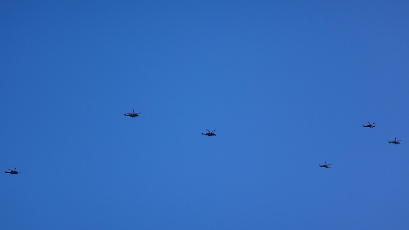 Blackhawks at Black Duck Creek