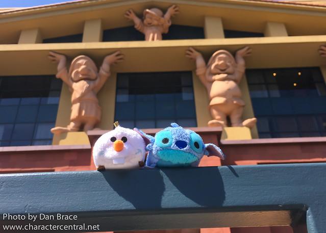 The Tsums visit the Walt Disney Studios