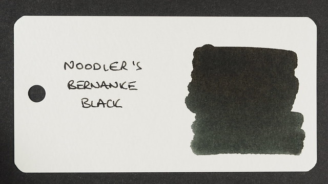 Noodler's Bernanke Black - Word Card