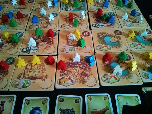 035 Five Tribes Gameplay 7