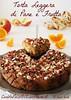Torta leggera di pane e frutta - Bread and fruit light cake