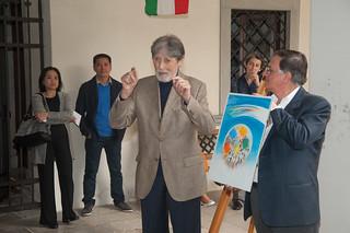 Inaugurazione della mostra fotografica alla festa dei Colori 2012