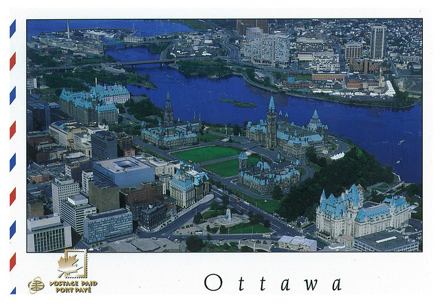 Canada - Ottawa - air view 1