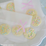 Easter buttons packaged