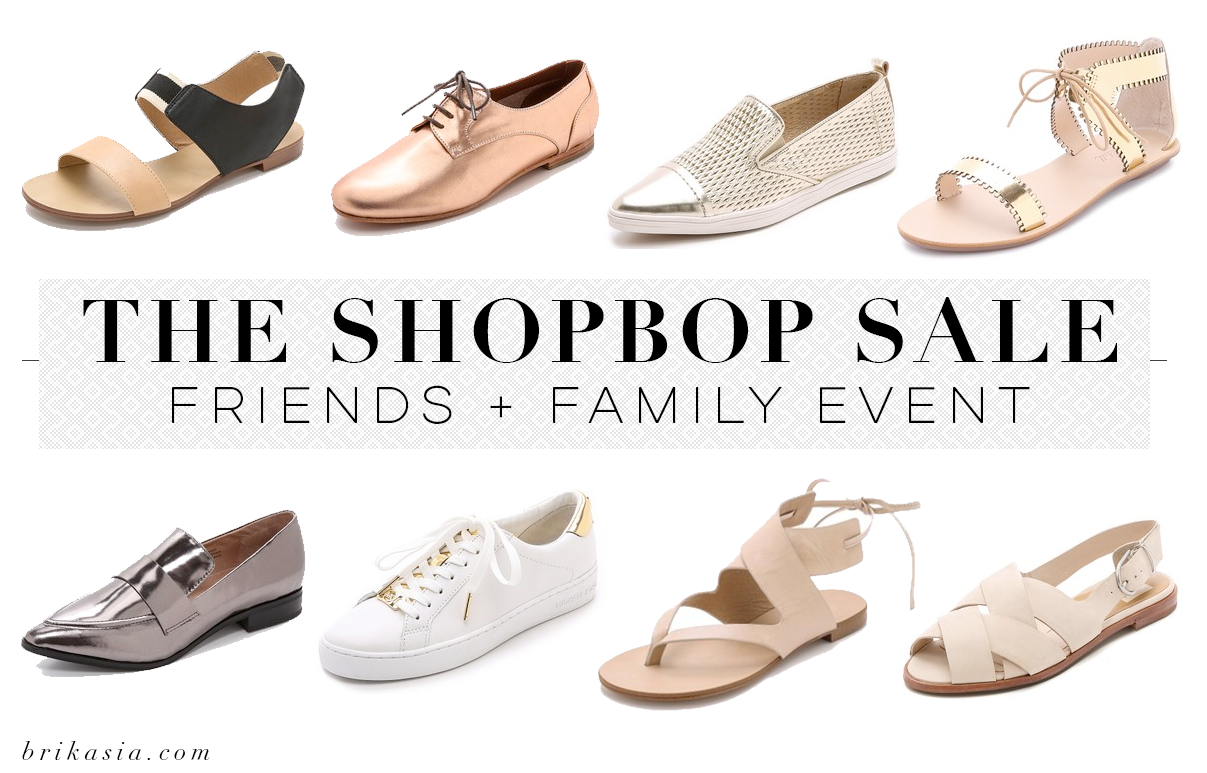 Shop Bop Friends and Family Sale, metallic shoe fashion trend, nude sandals, stylish comfortable shoes