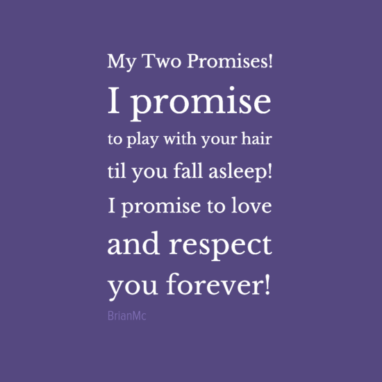 My Two Promises